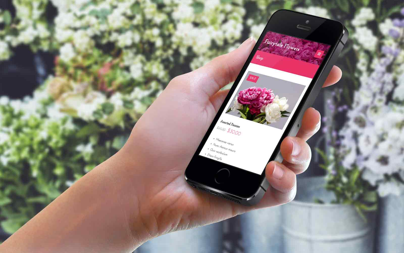 Flower Shop Webstore